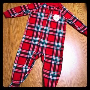 Other - Christmas footie pajamas- 18 months - unisex